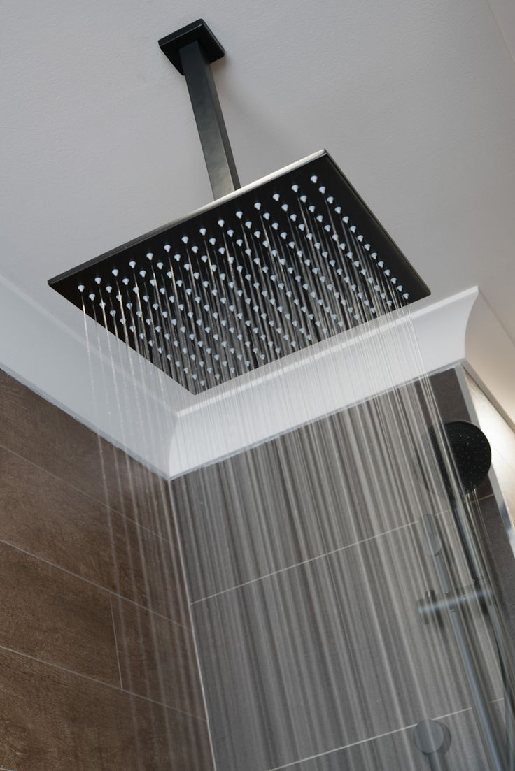 Methven Rain Shower Head. Included as a standard option in our Better Inclusions package. #bathroomideas #tapware #BetterBuilt #luxurybathroom #decor
