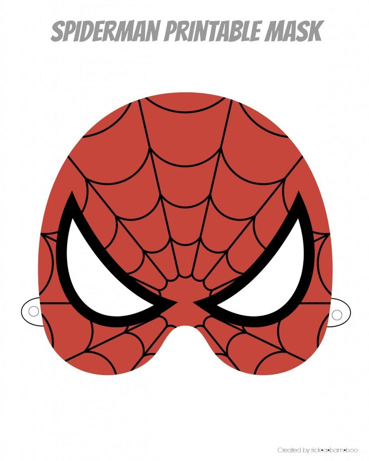 Free Printable Hero Masks                                                                                                                                                                                 Más