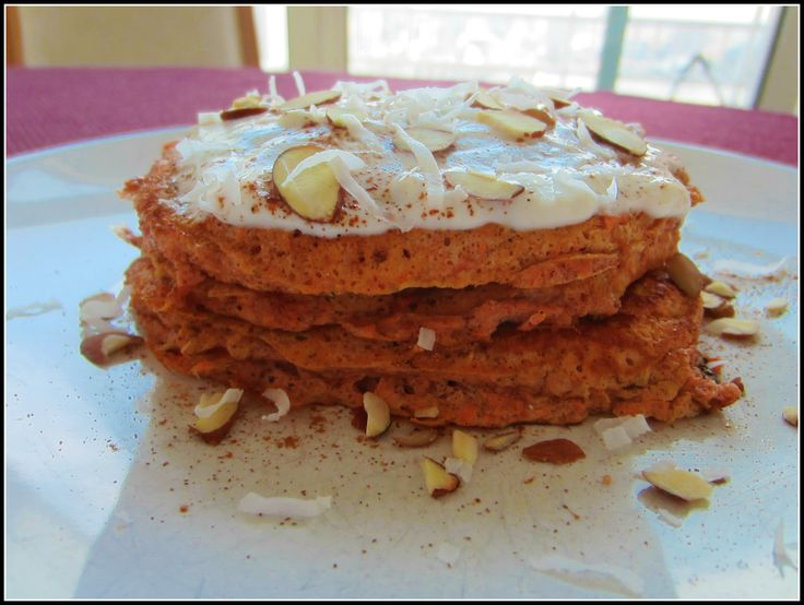 Carrot Cake Protein Pancakes | Food I'd Like To Try | Pinterest