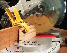 How to Make Perfect Cuts With Circular and Miter Saws. Cut cleaner and safer with your miter saw and circular saw. Take the worry out of making tough cuts like plunge cuts and miter cuts on wide boards, short boards and even tiny boards.
