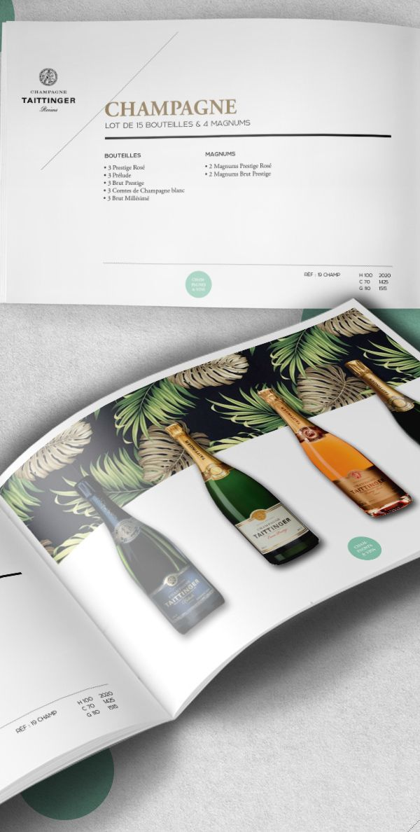B2B catalog for luxury brands
