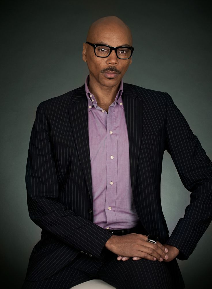 i think you are a tremendously handsome fellow, rupaul.