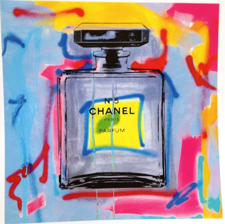 Chanel, Chanel, Chanel.  What's not to love!?  #Chanel #Art