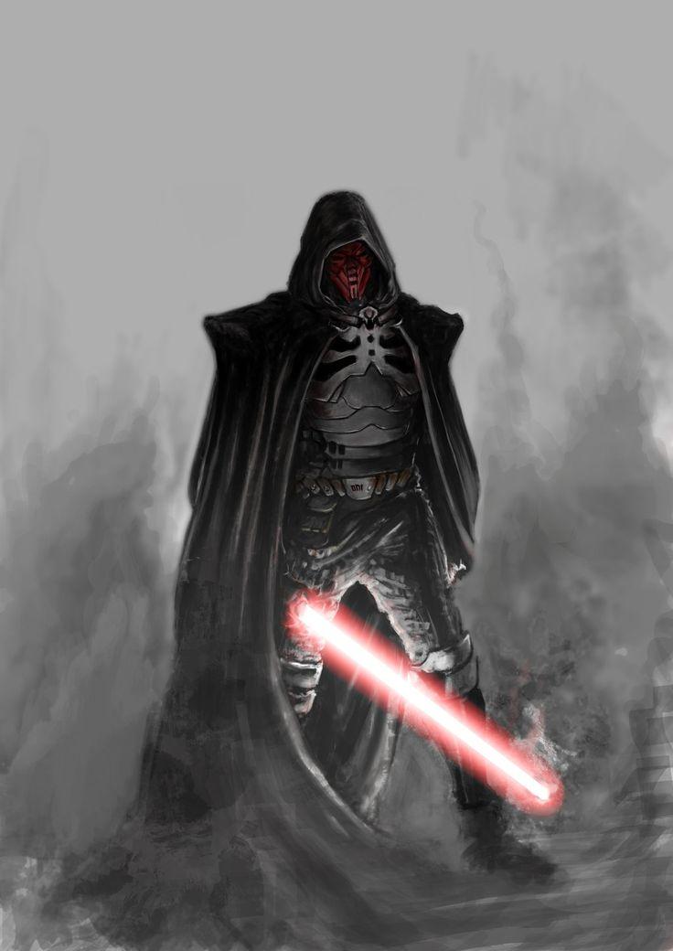 Star Wars - Sith Marauder by Oni Chu *