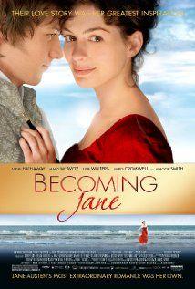 Becoming Jane: Great Movie, Romantic Movie, Jane 2007, Good Movie, Jane2007, Jane Austen, Watches Movie, Favorite Movie