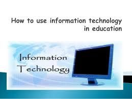 Education Information Technology Efficient Learning System