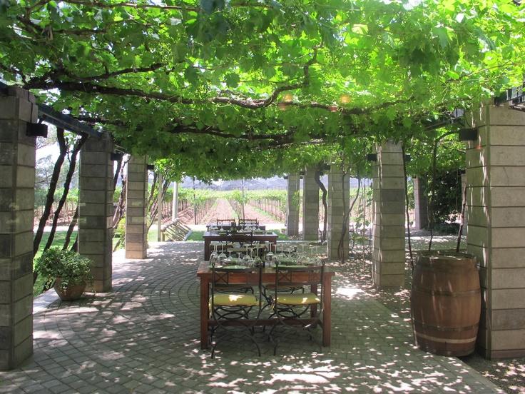 Great restaurant at Zuccardi winery in Mendoza.