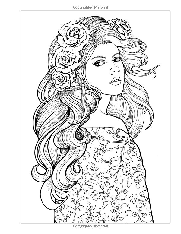914 Best Coloring Pages Images On Pinterest Coloring Books - coloring pages of girly things