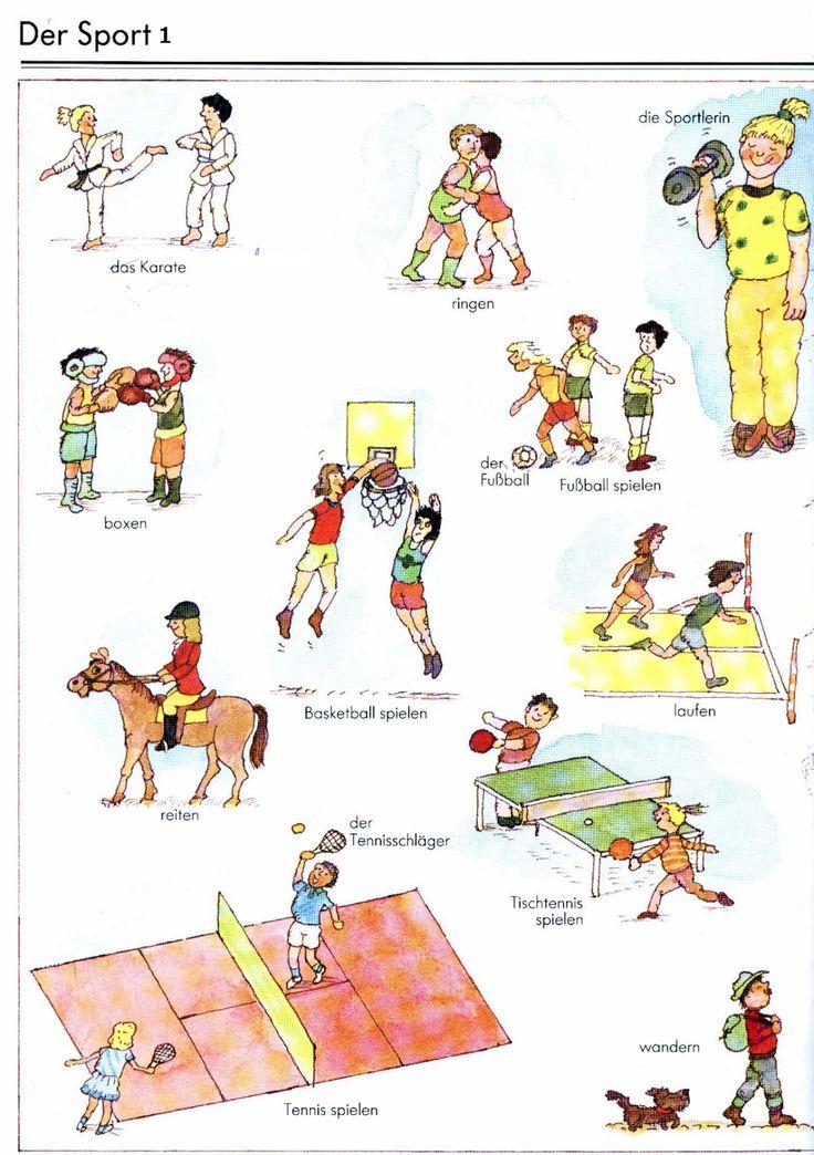 German For Beginners: Sport 1