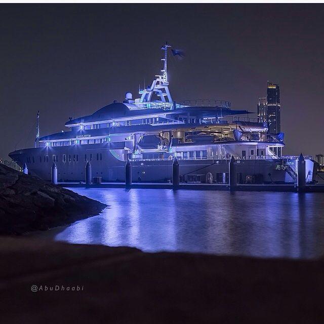 """Moon Light"" || By ALFA MARINE LTD || Photo by and property of @abudhaabi via IG"