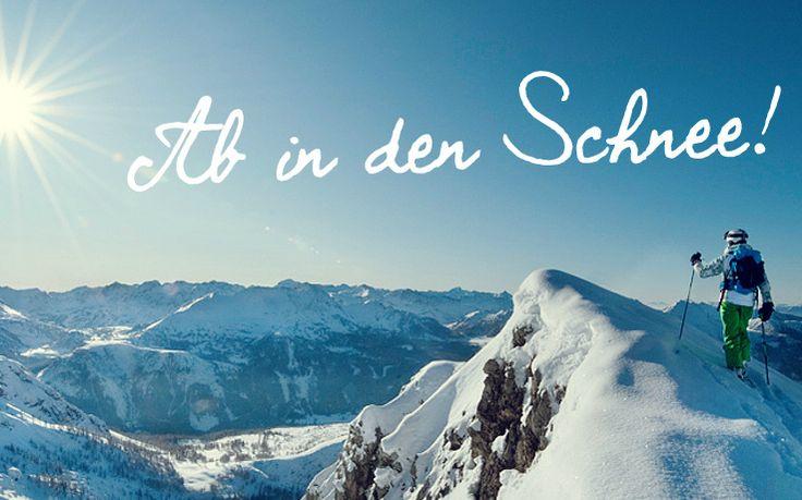 Für alle, die #Schnee lieben: Wer gerne #Wintersport betreibt, wird hier fündig. #Ski fahren, #Langlauf, #Schneeschuhwandern, #Rodeln oder einfach nur #Spazieren gehen im Schnee gehören schließlich zum Schönsten im #Winter. Ab in den Schnee!
