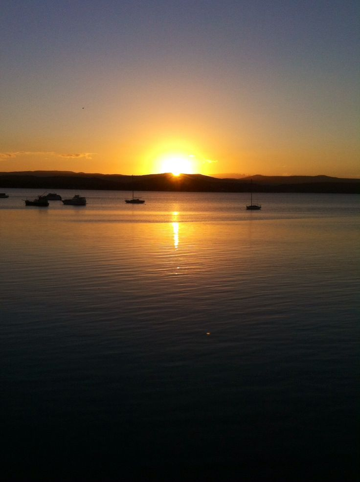 Just another lovely sunset on Lake Macquarie!