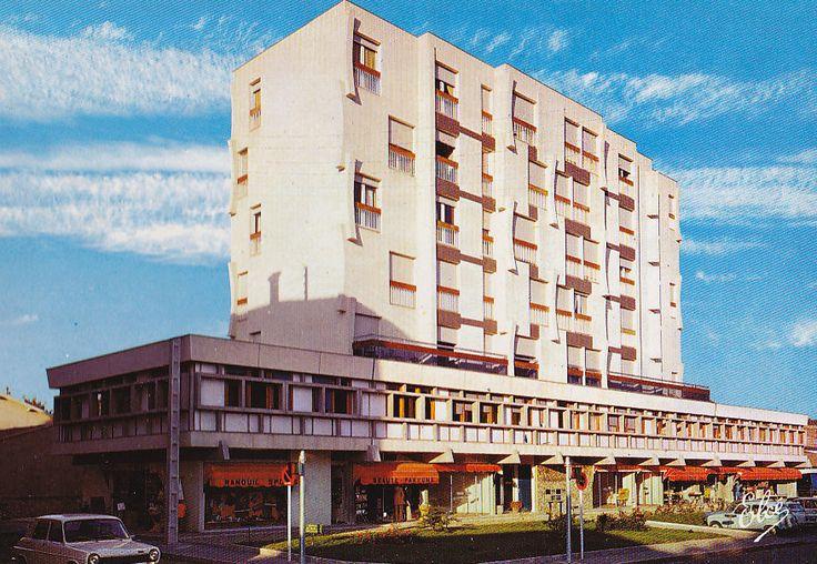 Langon gironde immeuble leclercq architecture for Porte quinze bordeaux