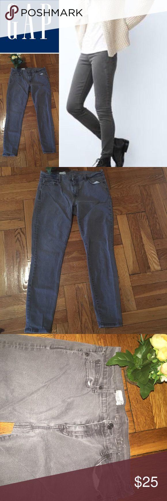GAP- Size30R/ gray legging jeans. GAP- Size30R/ gray legging jeans. GAP Jeans Skinny