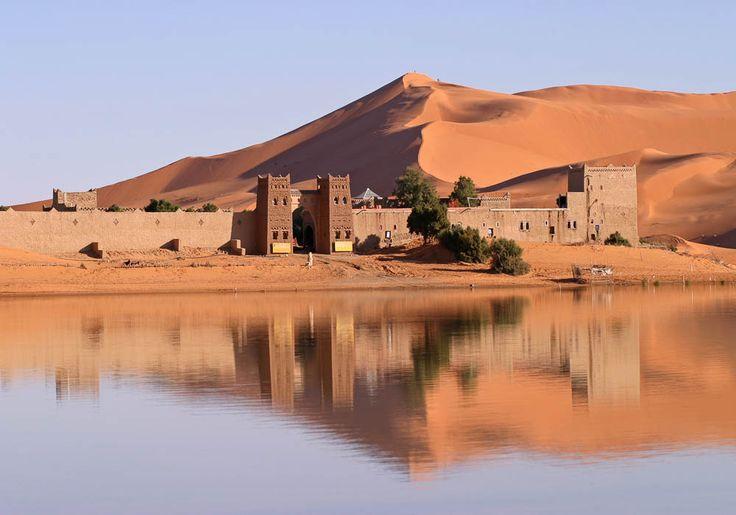 En plein Sahara marocain se trouve un lieu mystérieux que vous n'avez jamais vu