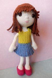 Emily, the Dress up Doll Crochet Pattern