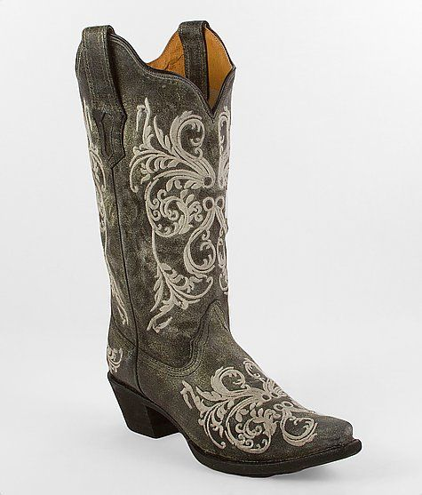 These babies are MINE - Corral Dahlia Embroidery Cowboy Boot