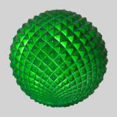 70mm Green Pineapple Ball  Code : BADE007GRPIAPPM