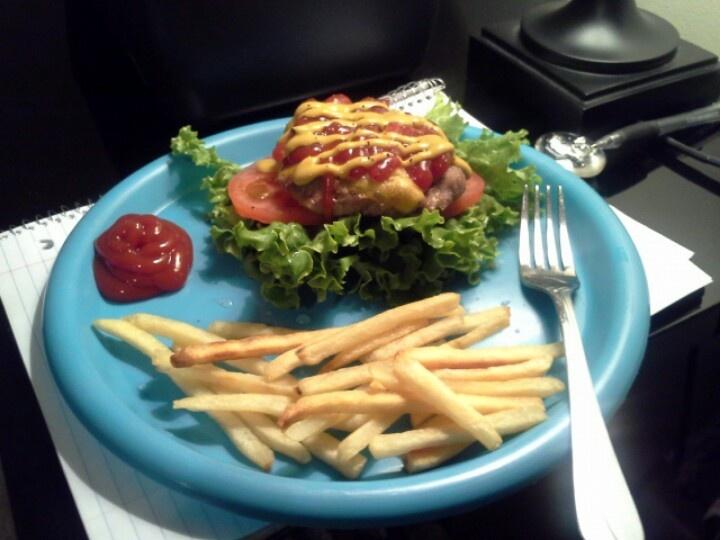 Delicious n Juicy baked turkey burger....NO BUN