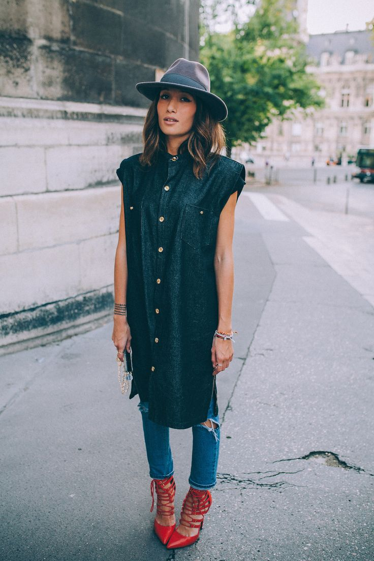 #StreetStyle Last Outfit #PFWvia alex-closet