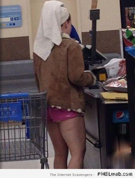 People In Walmart At Night