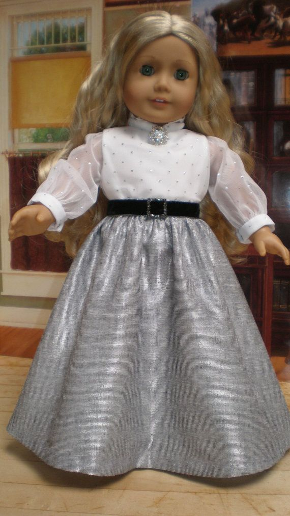 CAROLINE ABBOTT REGENCY Dress 6pc American Girl by dollupmydoll