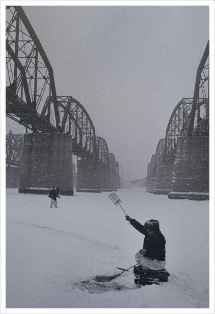 1957, 한강 겨울, 작가 이형록