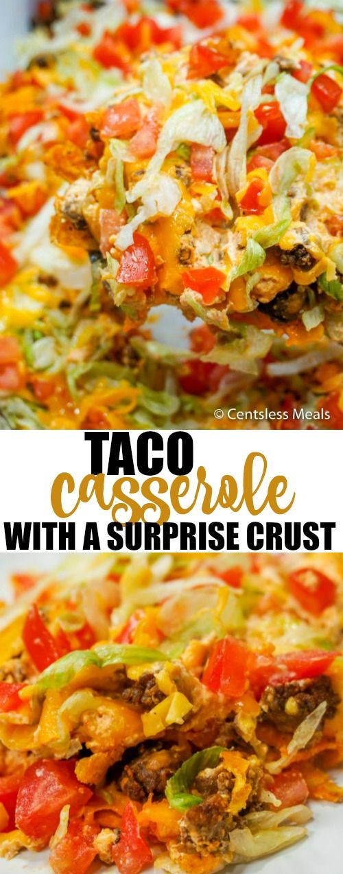 This easy taco casserole will definitely dazzle your taste buds! It's got all of the spicy flavor combinations you love, mellowed perfectly by the cream cheese and cheddar cheese. It's a casserole that will be requested often in your household! http://macquariestreetmedicalpractice.com.au