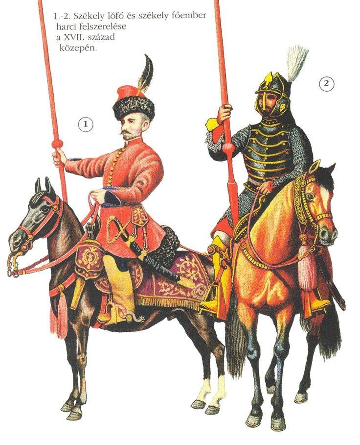Szekler cavalry, half of the 17th century