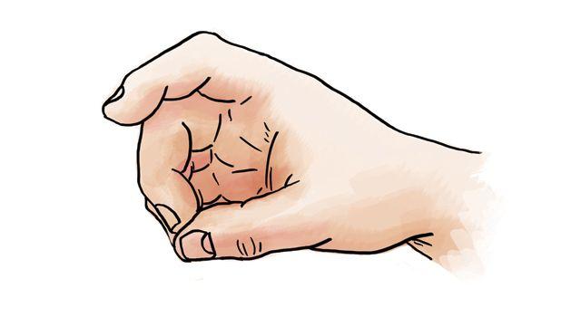 Tisztánlátás és türelem-mudra   A középső ujj hegyét összeérintjük a hüvelykujj végével. A középső ujj a szilárdságot, a tisztánlátást, a türelmet, a felelősségérzetet és a bátorságot szimbolizálja. A mozdulat elvégzése után könnyebben átlátjuk a bonyolult helyzeteket, gyorsan tanulunk, és amit megtanultunk, azt nem felejtjük el.  Forrás: http://egeszsegsuli.hu/mudrak/  Forrás: http://egeszsegsuli.hu/mudrak/
