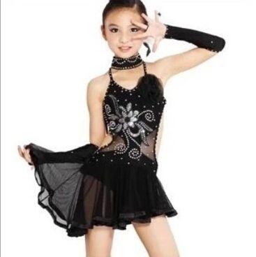 Trouver plus latine informations sur noir de danse latine - Danse de salon enfant ...