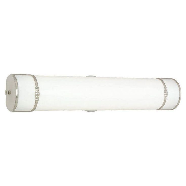 Sea Gull Sussex Vanity Light Bar - 24W in. Brushed Nickel, ENERGY STAR - 49215BLE-962