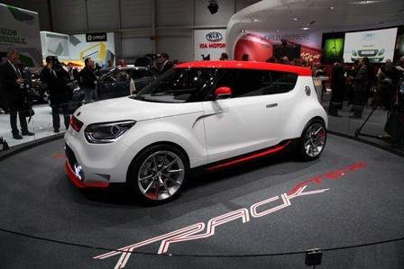 Kia Track'ster Concept at the 2012 #genevamotorshow #auto #cars
