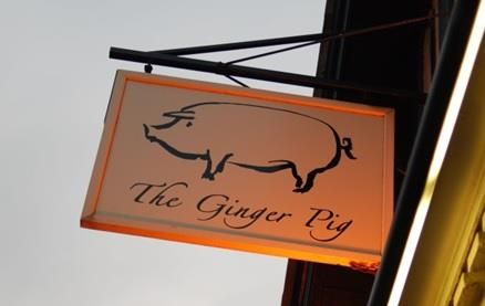 The Ginger Pig (Hove) - an evolving project with an outdoor dining area for alfresco dining in the warmer months - Great Modern British menu.