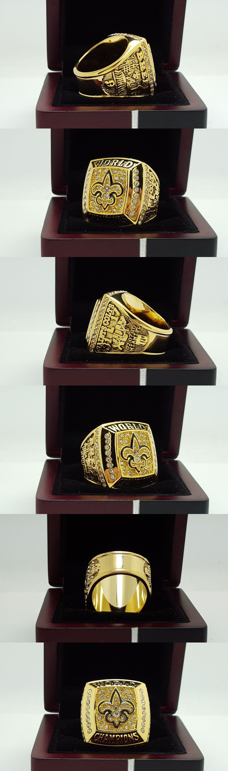 2009 New Orleans Saints super bowl Championship ring  8-14 Size  High quality, it is worth collecting