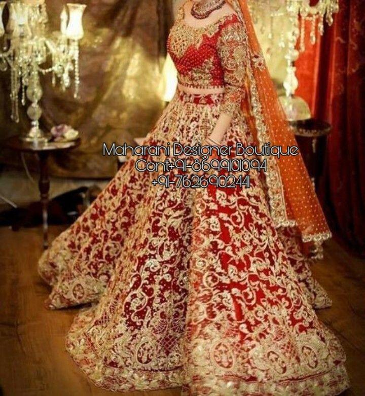 Lehenga Wedding Lehenga Maharani Designer Boutique Bridal Lehenga Images Pakistani Bridal Dresses Bridal Lehenga Red