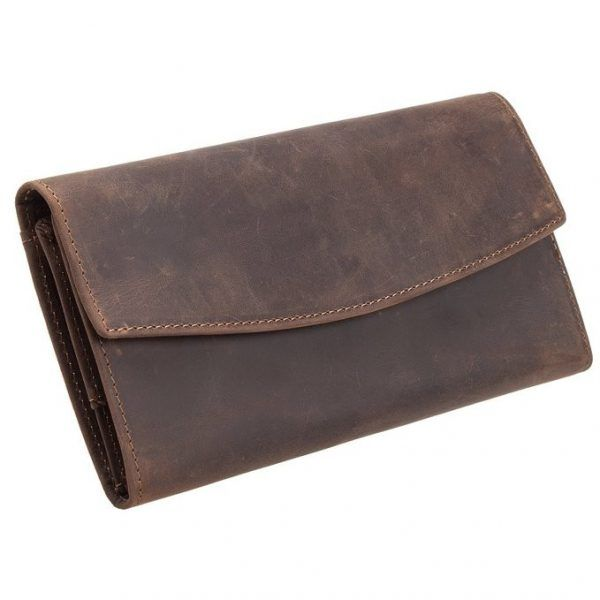 Vintage quality genuine leather wallet for women