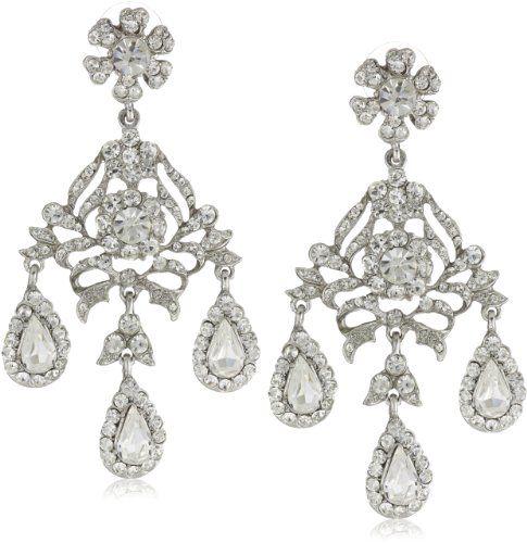 59 best Wedding Earrings images on Pinterest | Wedding earrings ...