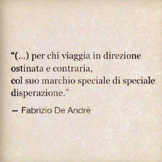 Fabrizio De André #citazioni #frasi #poeti #cantautori