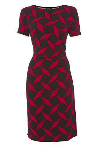 Roman Originals Women's Short Sleeve Geo Jersey Dress Red... https://www.amazon.co.uk/dp/B01MF9BVH4/ref=cm_sw_r_pi_dp_x_soFSyb4BRHB63
