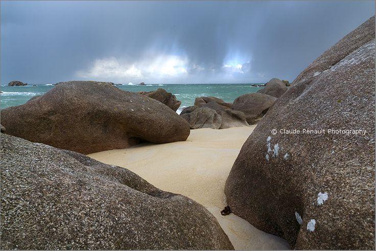 Rocks on a beach. Penn ar Bed.  Photo Gallery  |   Facebook  |  My Blog    A New Interview  |