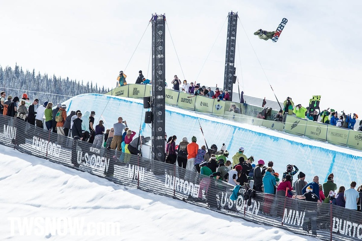 Holy shit, Christian Haller has an awesome method. PHOTO: Aaron Blatt   | Shaun White and Kelly Clark win the Halfpipe at the Burton US Open at Vail Colorado | TransWorld SNOWboarding