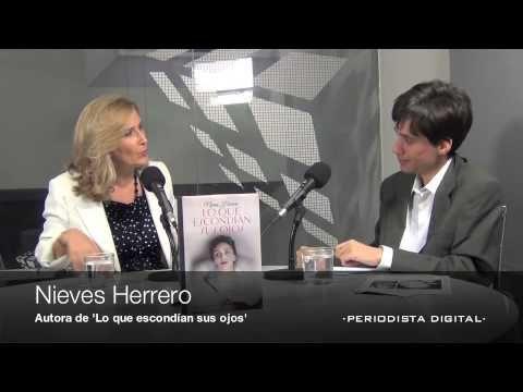 La periodista y escritora Nieves Herrero presenta su primera novela histórica Lo que escondían sus ojos, sobre el gran amor prohibido del Fr...