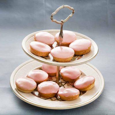 Roze koeken