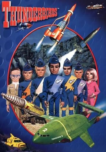 Thunderbirds are Go! First aired on British TV in 1965
