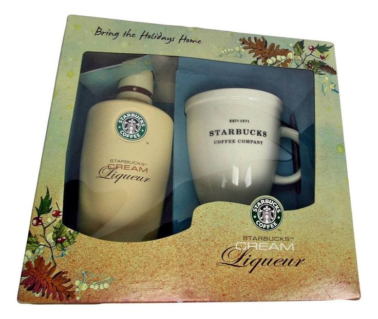 Empty starbucks cream liqueur gift set limited edition