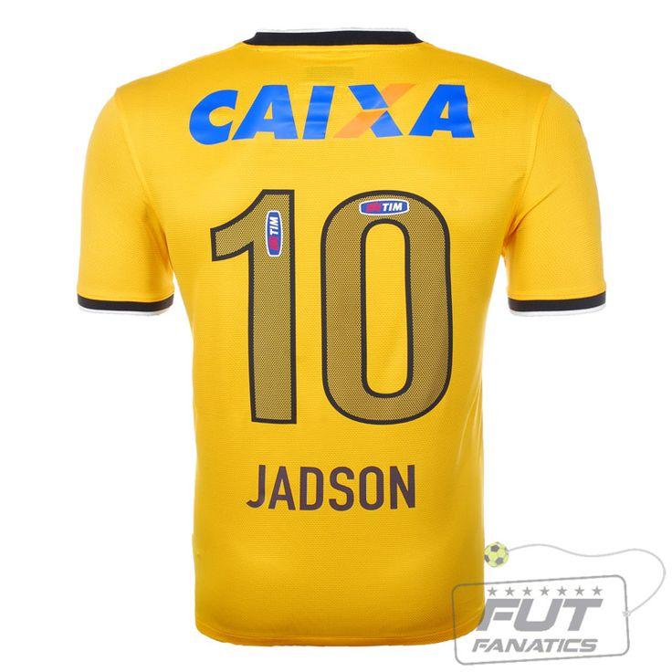 Camisa Nike Corinthians III 2014 - Jadson - 10