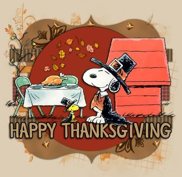 Happy Thanksgiving | Snoopy 4 Lil J | Pinterest