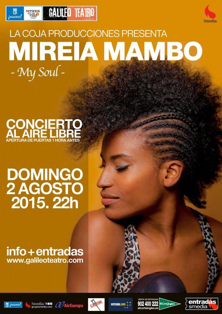 MIREIA MAMBO. MY SOUL en el Teatro Galileo