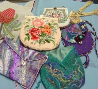 Valerie Cavill, textile collector, historian, and founder of the Guild's Textile Collection, relates social and cultural history through bags and purses.